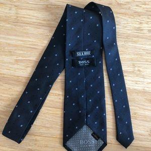 Hugo Boss Silk Blue Tie